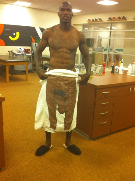 Picture Of The Day: Chad Ochocinco's DONG Towel | Total