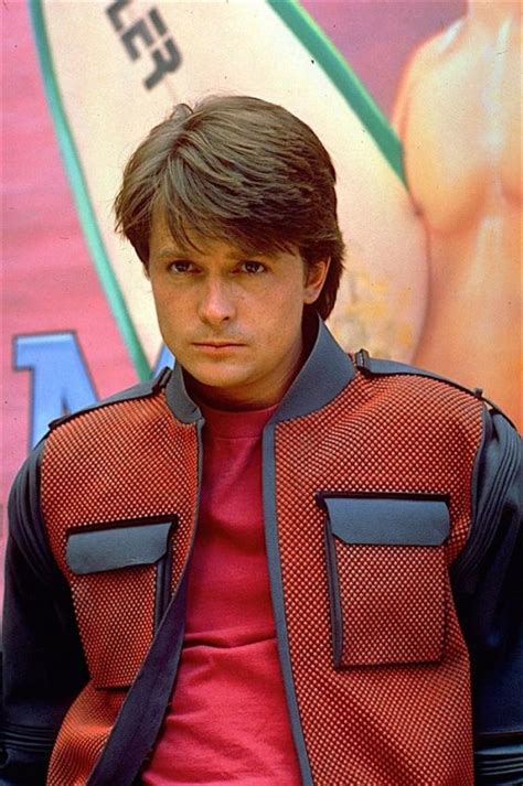 Marty Mcfly Back To The Future 2 Michael J