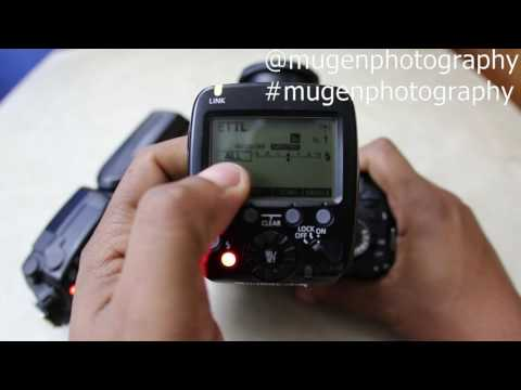 High Speed sync Canon EX RT 600 speedlight and the ST E3