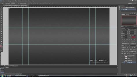NEW YOUTUBE CHANNEL DESIGN BANNER LAYOUT PSD TEMPLATE 2013