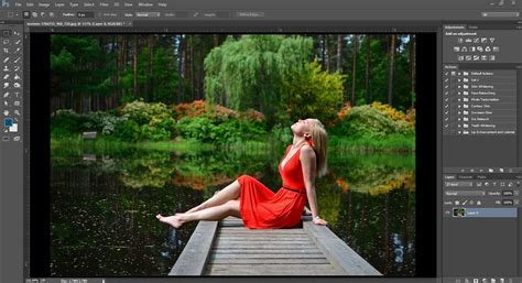 Blur Photo Background in Photoshop, Shallow Depth of Field