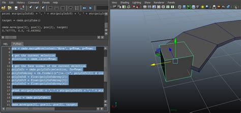 python - How to get face normals average in Maya? - Stack