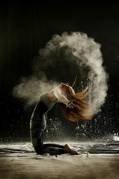The Beauty and Power of Dance Captured in Photos Using Powder