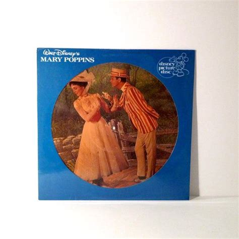 Mary Poppins Sealed Picture Disc Vinyl Vintage Record