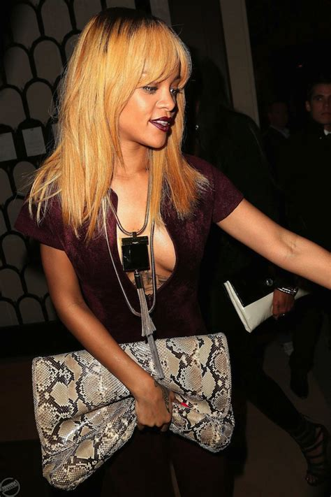 Rihanna Unzip Out Her Bright Red Catsuit In Paris [PHOTO