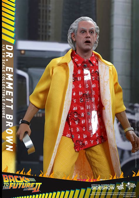 Hot Toys BTTF II Marty McFly & Doc Brown 1/6th Scale