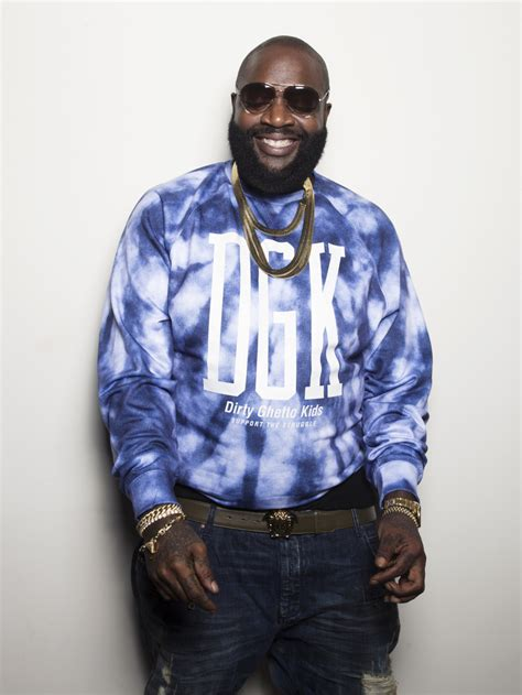 Rick Ross Height, Weight and Body Measurements